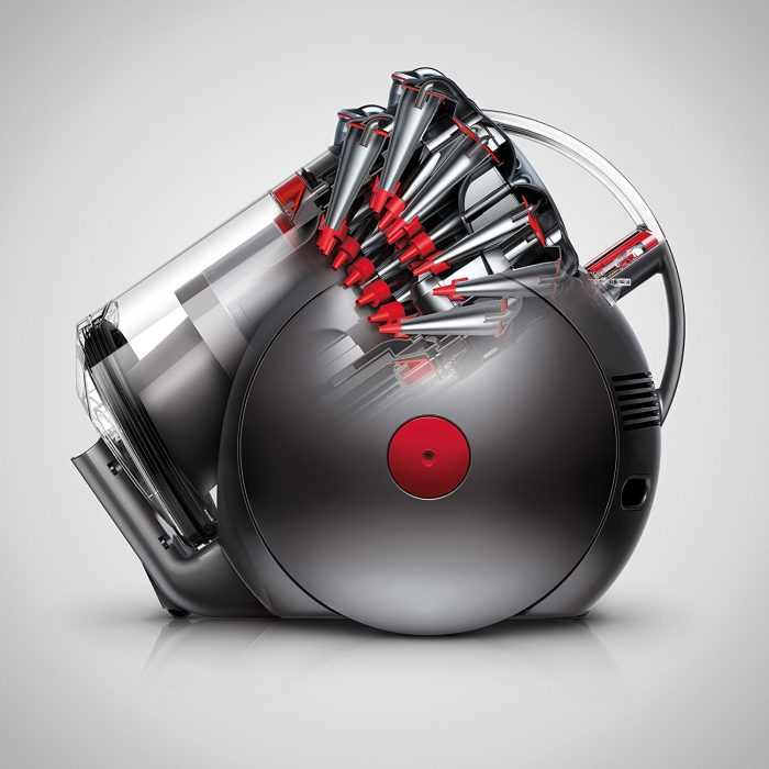 Dyson Cinetic Big Ball Animal Canister Vacuum Cleaning Power
