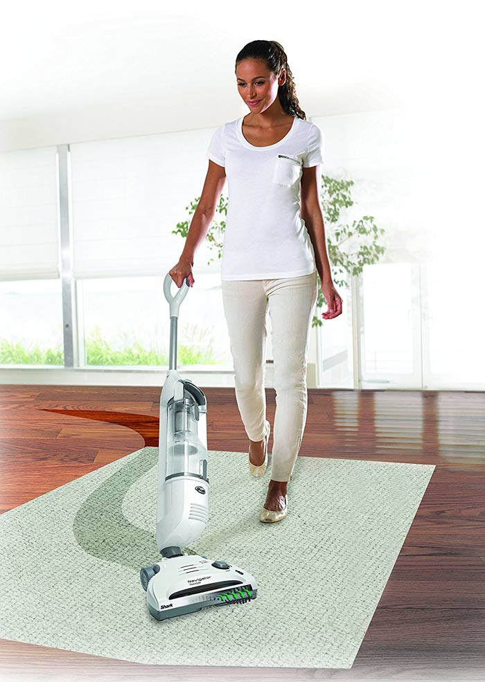 Shark Navigator Freestyle cordless stick vacuum on Floor
