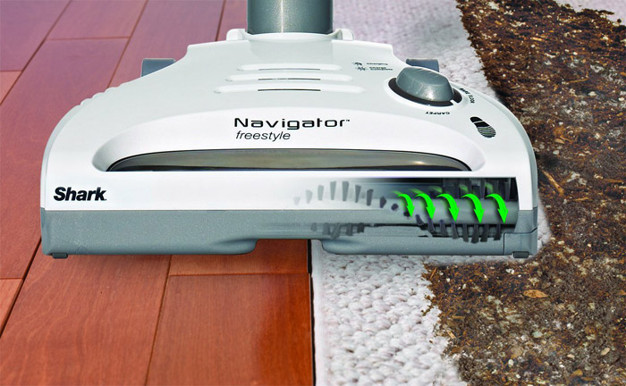 Shark Navigator Freestyle cordless stick vacuum Capacity