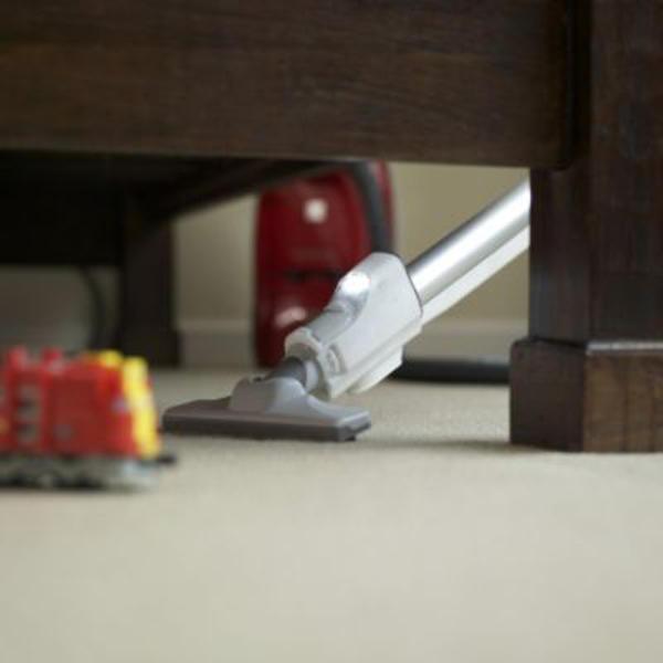 Kenmore Progressive 21614 Canister Vacuum Cleaner on Floor