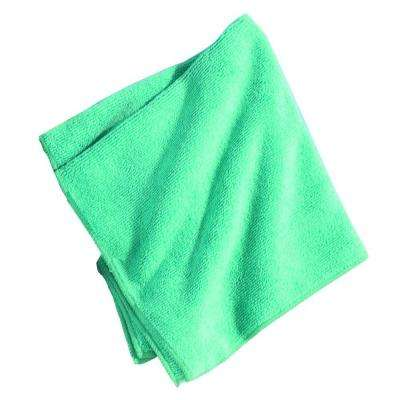 Microfiber to clean hard surfaces