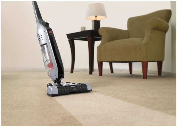 Hoover Linx BH50010 Cordless Stick Vacuum Cleaning Power