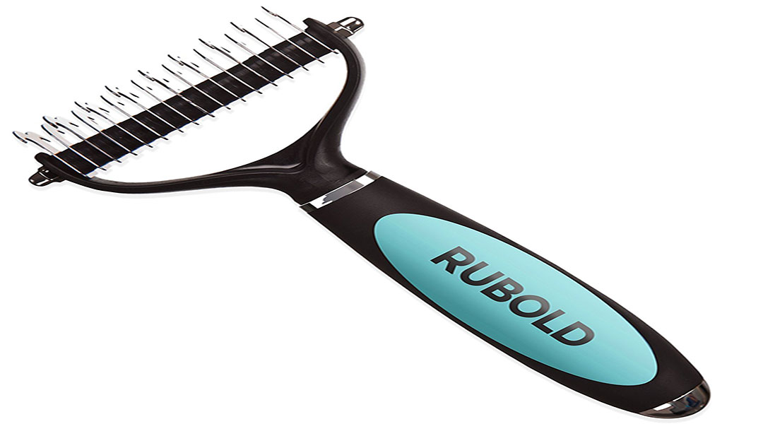 Rubold Fur Perfection Professional Rake Brush