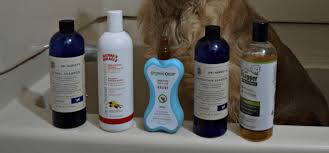 Special shampoos and bathing products